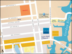 Naples Square-Naples FL - location map