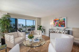 Living room of 2170 Gulf Shore Blvd
